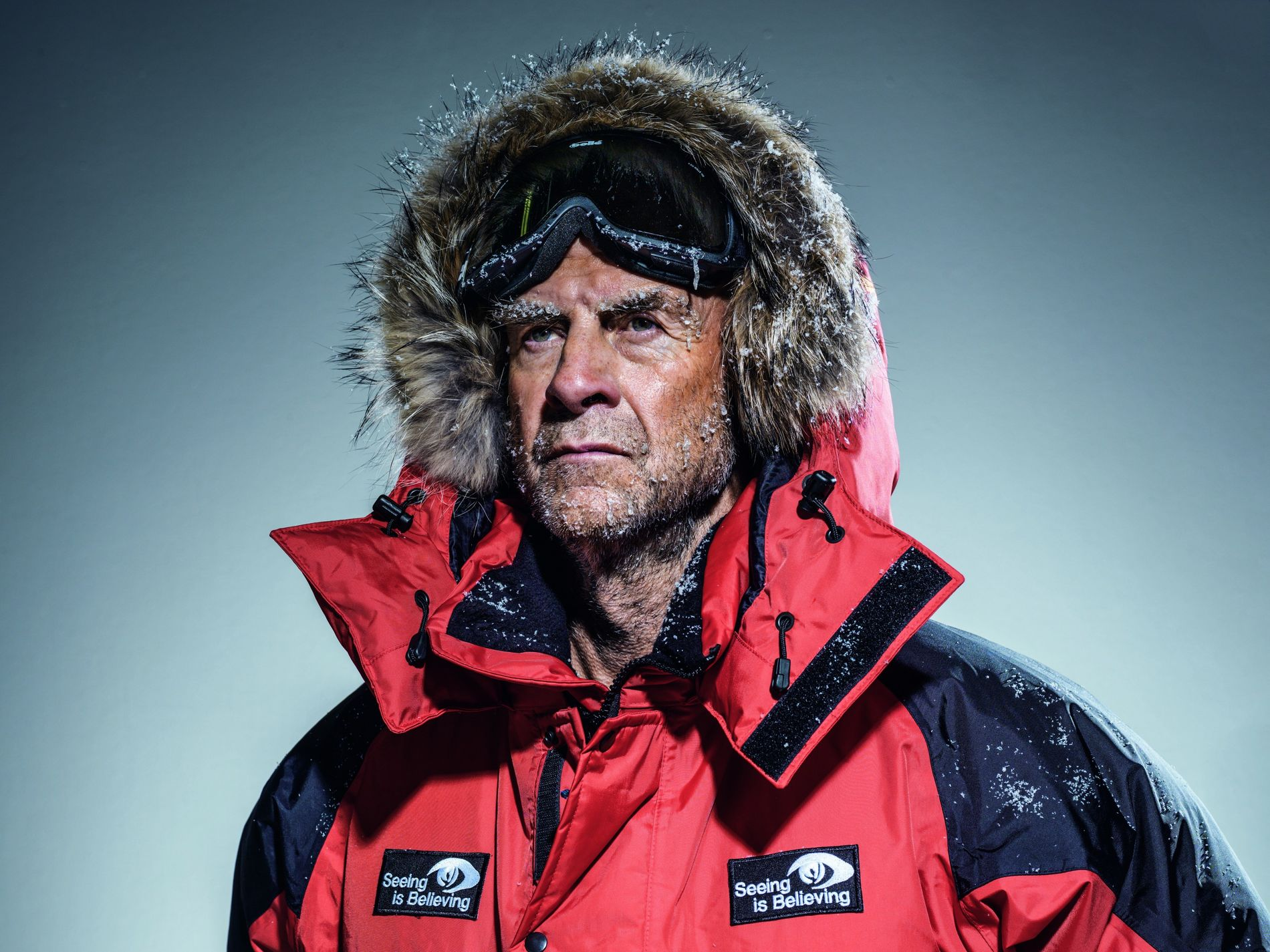"""Sir Ranulph Fiennes holds numerous records for endurance and has been described as the """"world's greatest ..."""