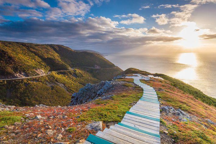 Skyline Trail, Highlands National Park, Nova Scotia.