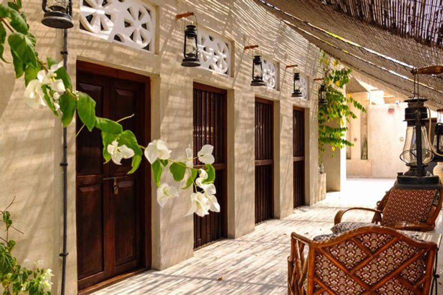 XVA Art Hotel, Al Fahidi, Dubai.