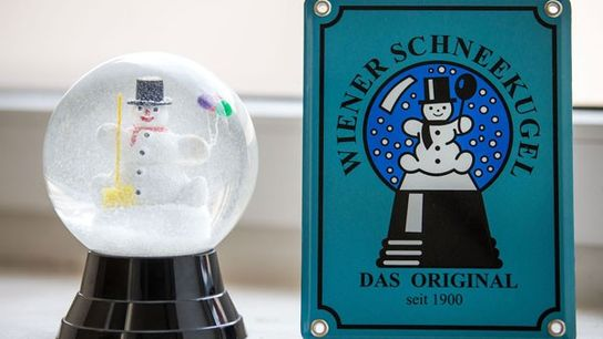 Viennese Snow Globe.