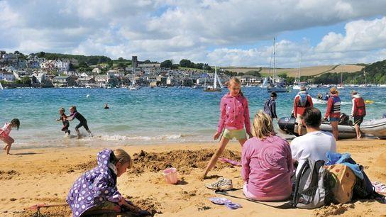 East Portlemouth Beach, Salcombe, Devon