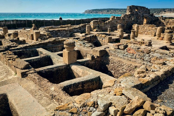 Numerous garum factories sprang up along the coasts of North Africa and Spain, such as the ...