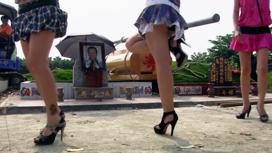 Strippers at funerals, an old tradition in Taiwan