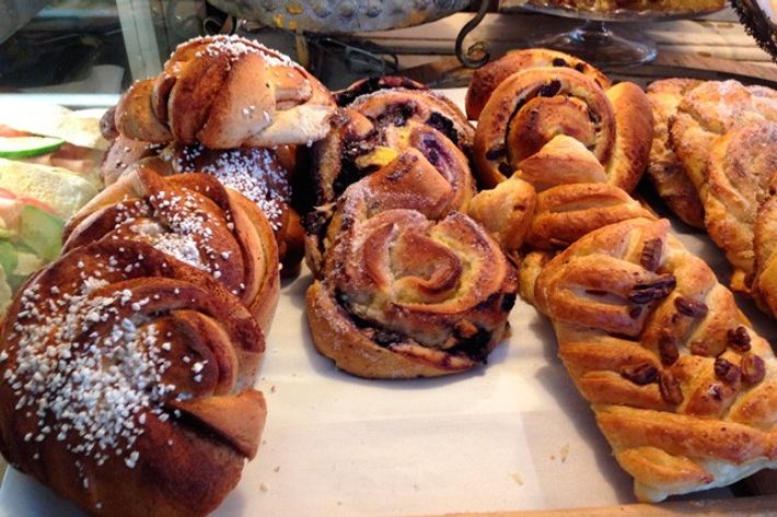 Swedish pastries.
