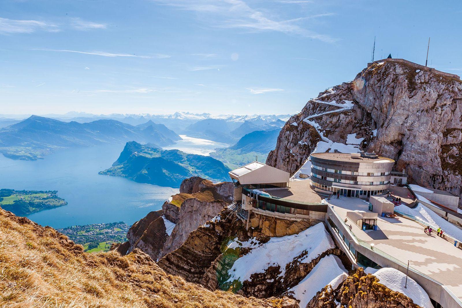 Hotel Bellevue, Mount Pilatus, Switzerland