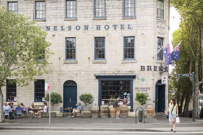 The Lord Nelson Brewery Hotel, one of Sydney's oldest pubs