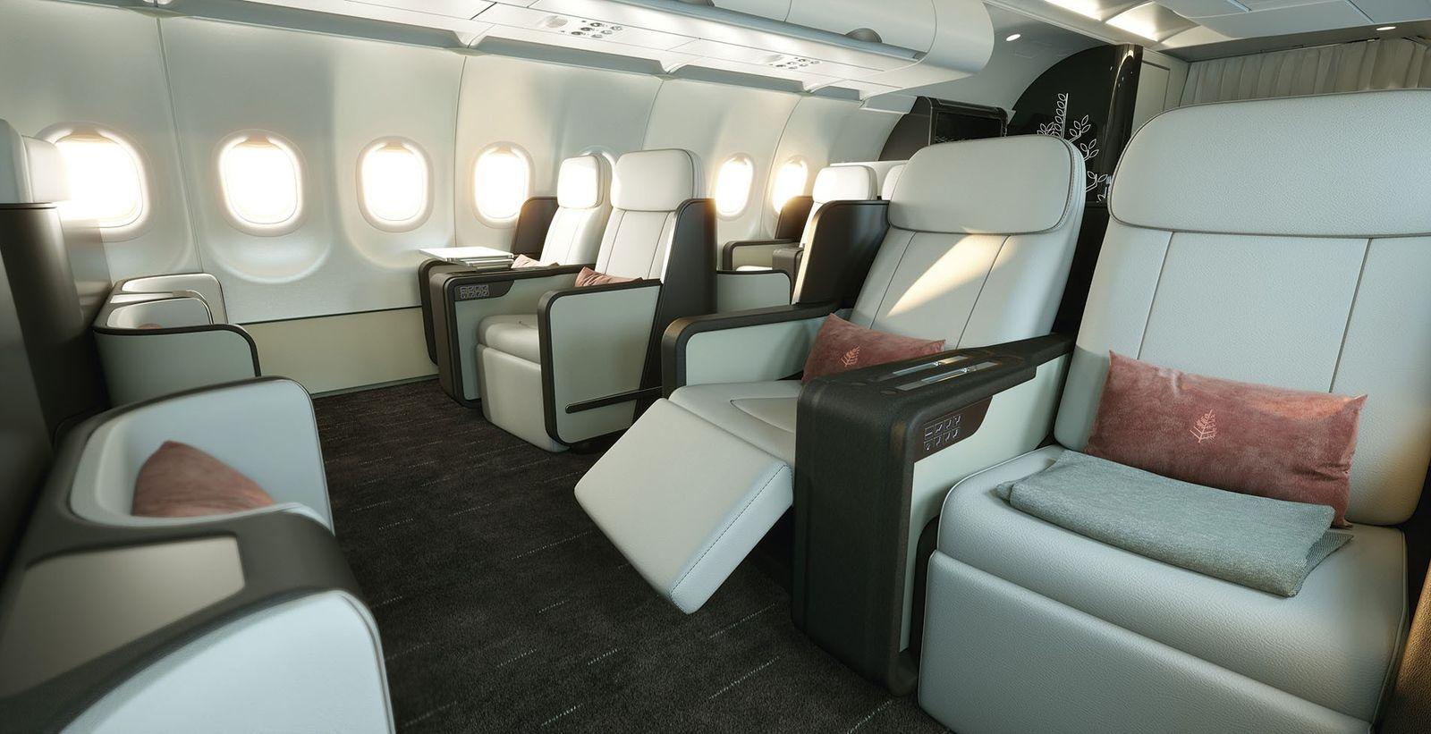 Four Seasons private jet.