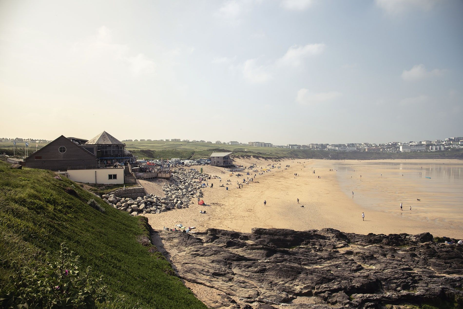 Fistral Beach in Cornwall
