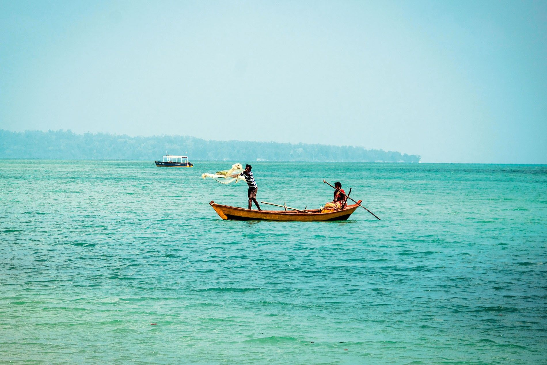 Fishing in the Andaman Islands