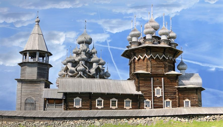 These remarkable, centuries-old churches were built without nails