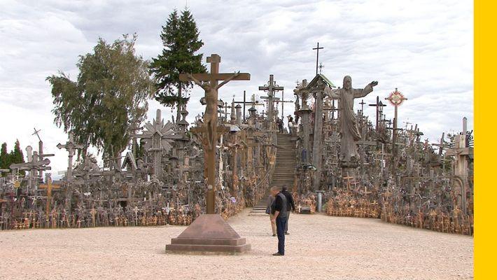 Go Inside Lithuania's Hill of Crosses