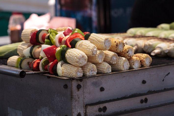 Vegan shish kebab
