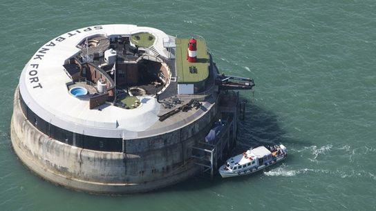 Spitbank Fort on the Solent