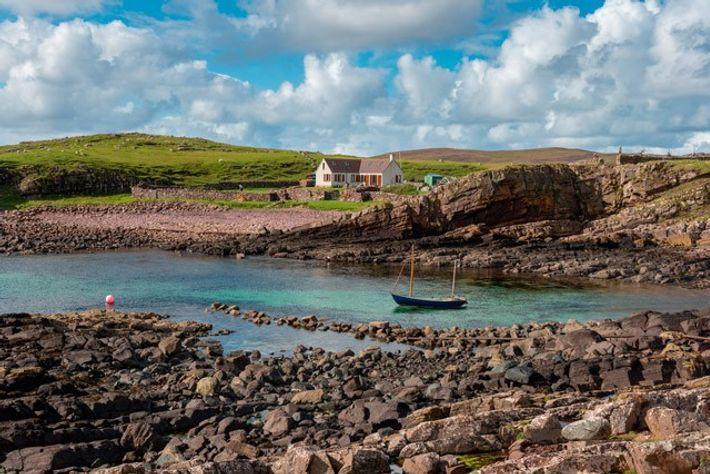 Bay Clachtoll, Scotland.