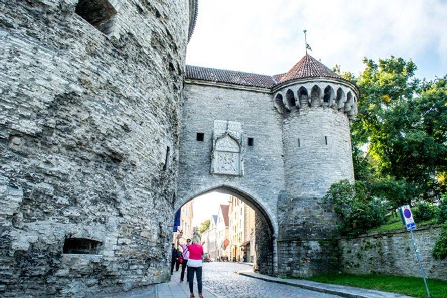 Great Coastal Gate, Tallinn Old Town. Image: Sameena Jarosz