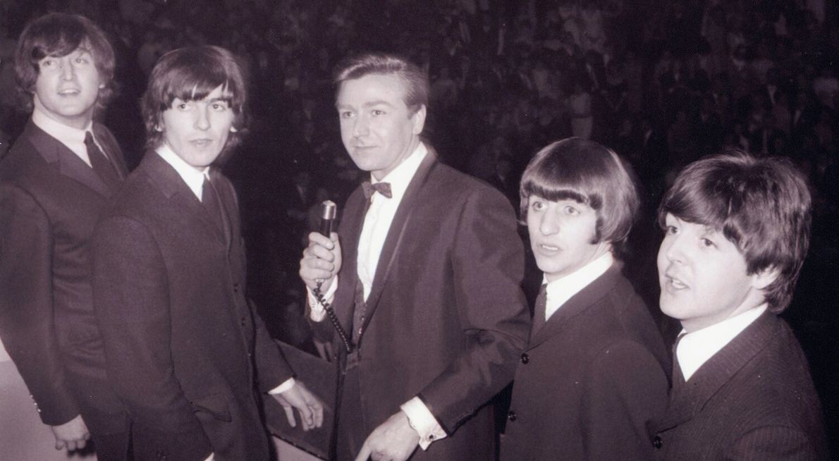 The Beatles at the Great Pop Prom, 15 September 1963. The band played several concerts at the ...