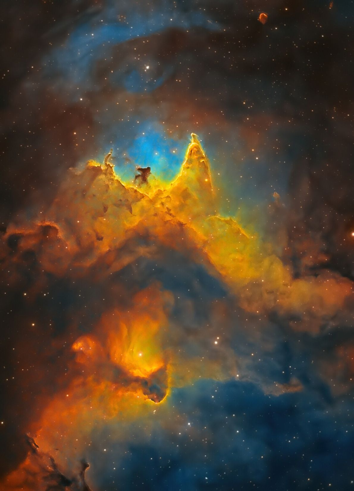 Shot by 13 year-old Kush Chandaria from Notting Hill, London, this image of the Soul Nebula ...