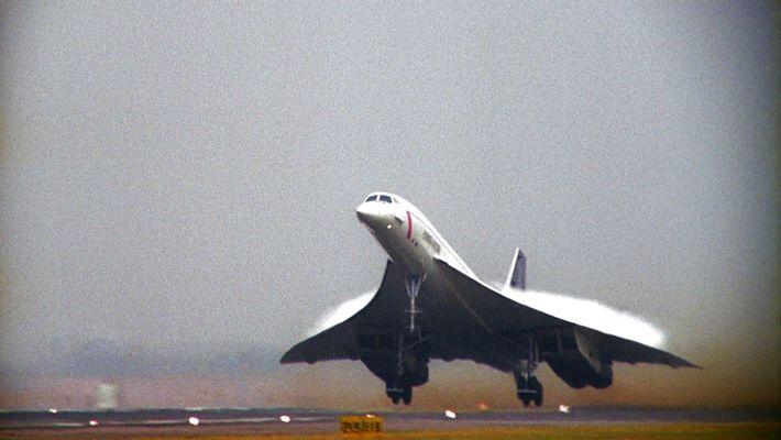 Concorde, the world famous plane