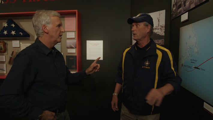 The Sunk of Titanic and Bob Ballard