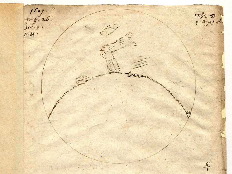 London, July 26, 1609: Mankind's First Giant Leap Towards the Moon