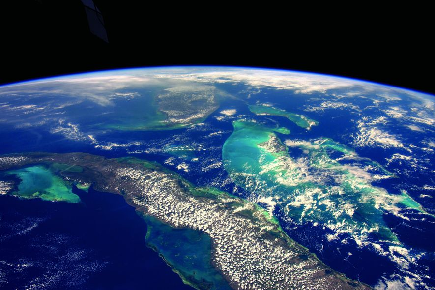 A World Undivided (When Seen From Space)