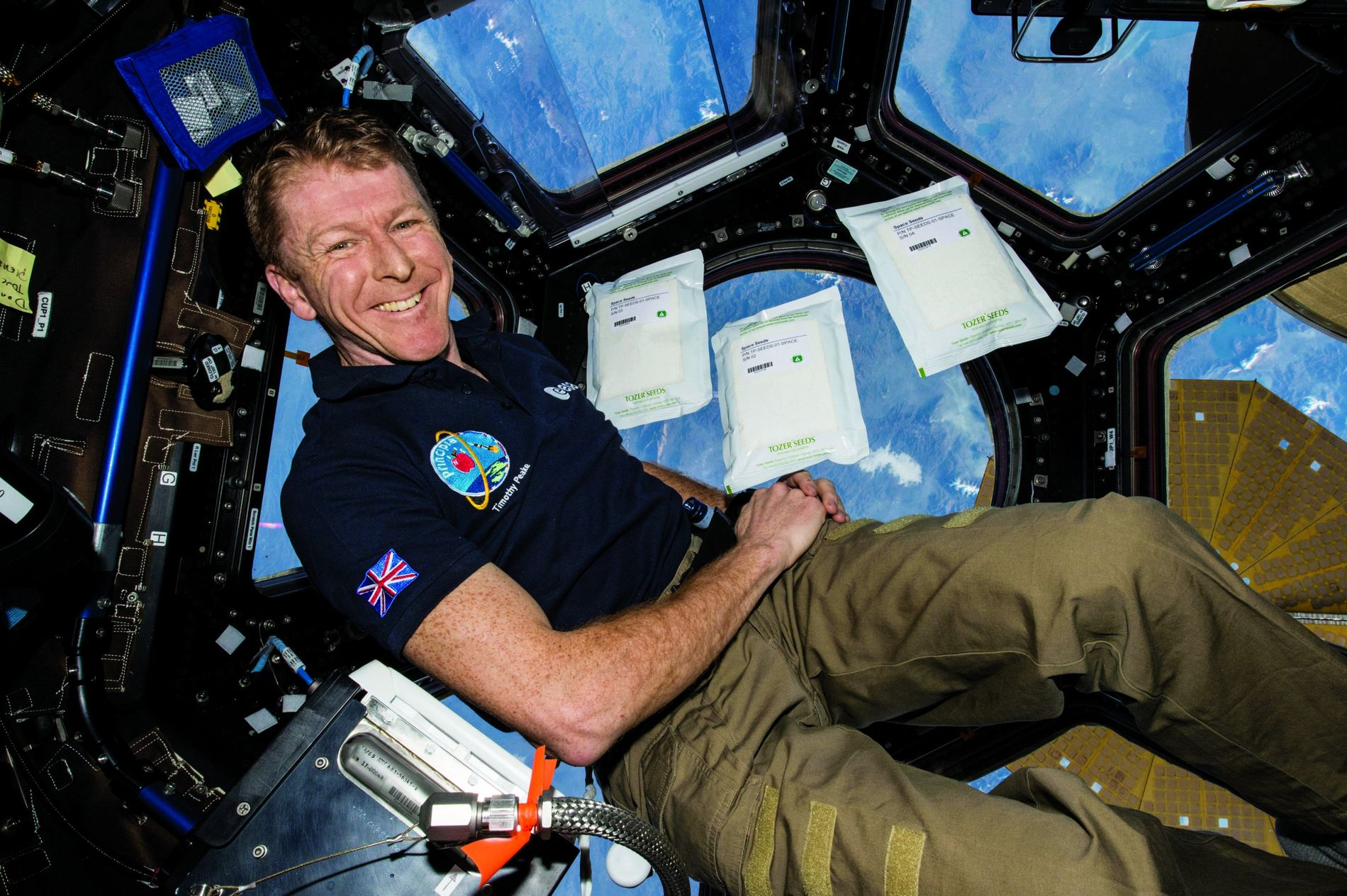 Meet Tim Peake: Guest Editor of National Geographic