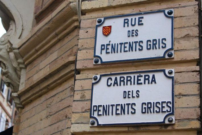 Toulouse road signs