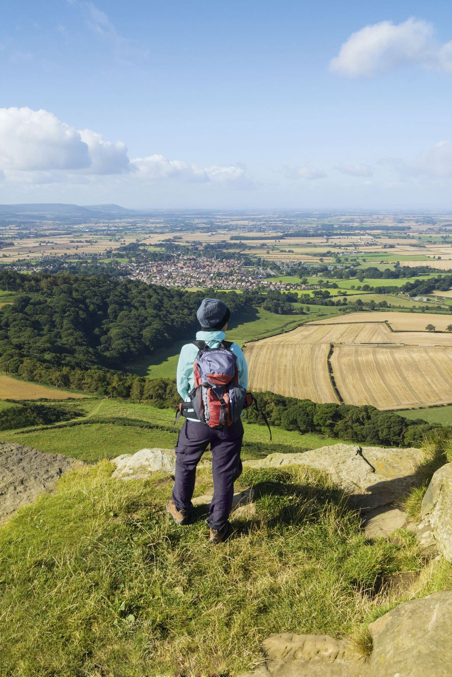 Roseberry Topping, near Great Ayton, North Yorkshire.
