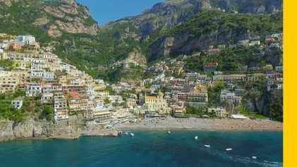 Experience Italy's sun-kissed Amalfi coast
