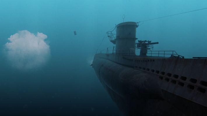 The U-boat hunting in the Atlantic