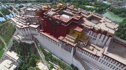 Catch a glimpse of the Iconic Heart of Tibetan Buddhism