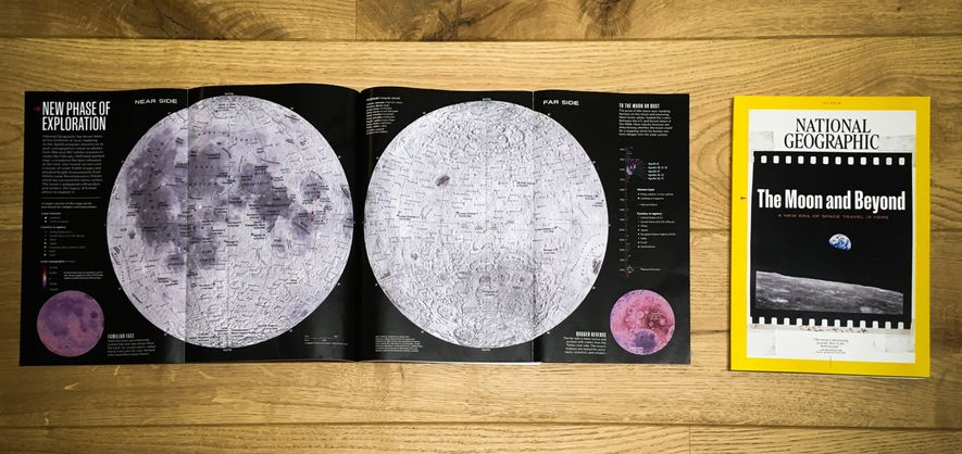 The July 2019 issue of National Geographic features a gatefold with our newest map of the ...