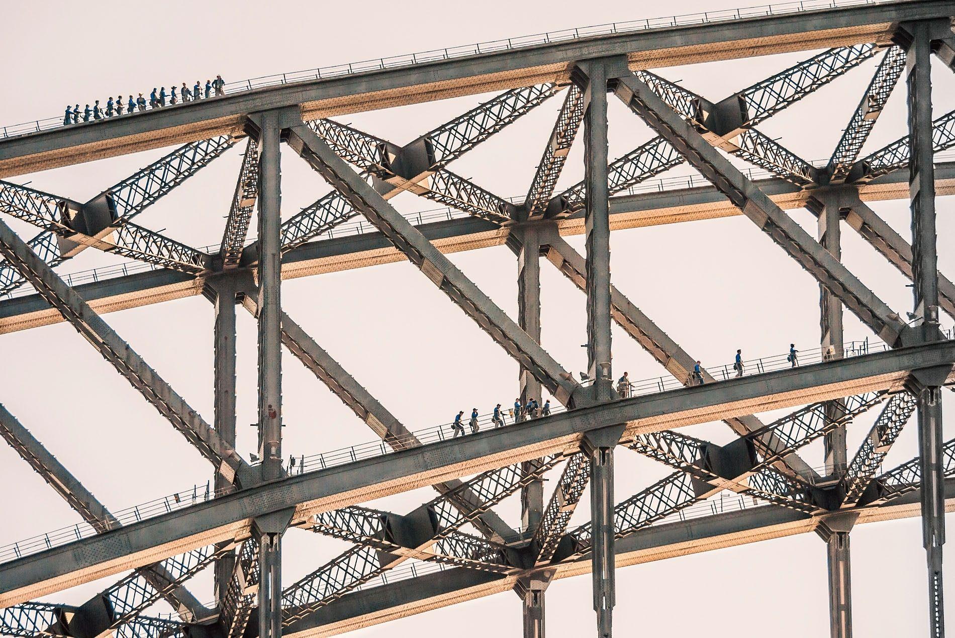 BridgeClimb over Sydney Harbour Bridge.