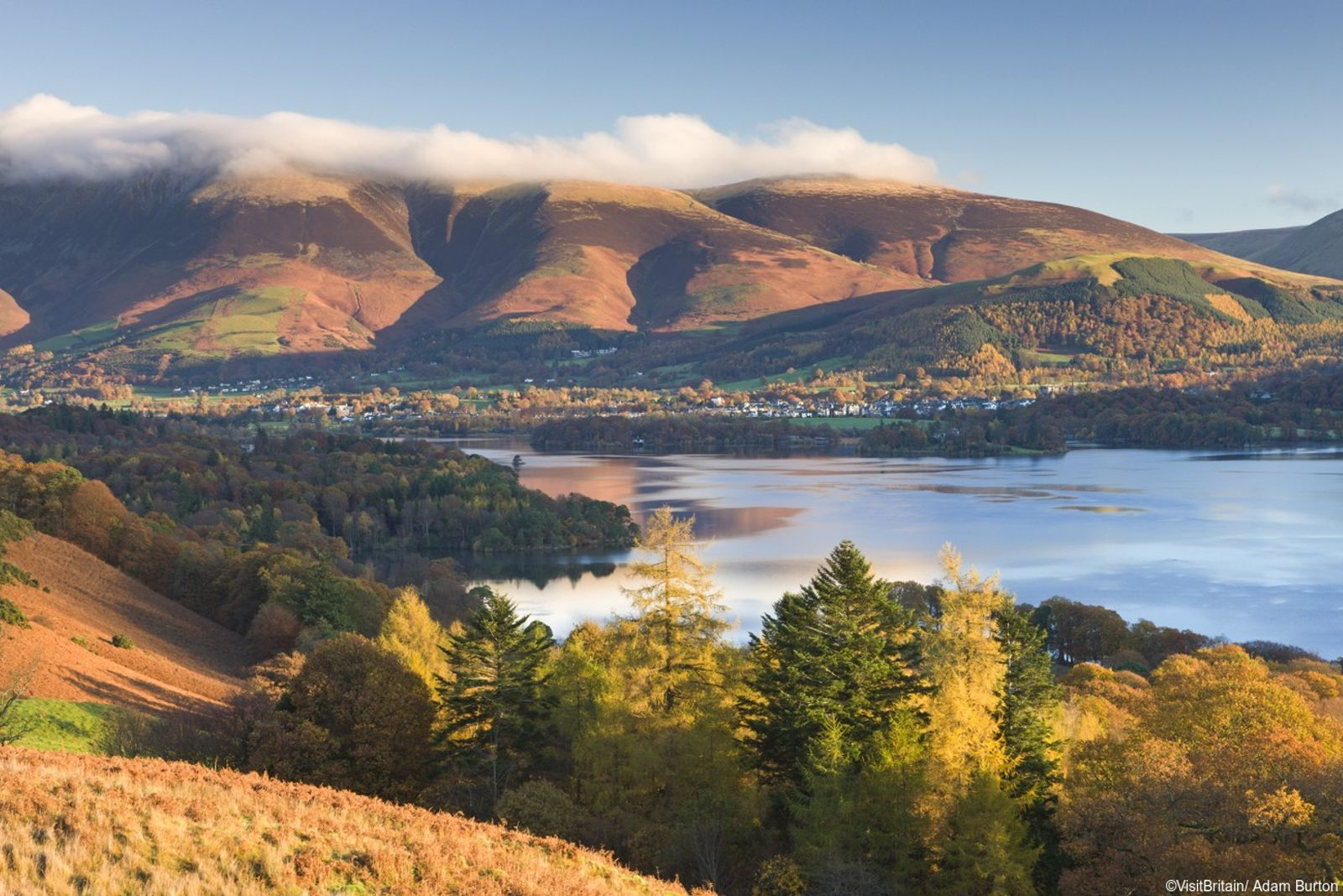 Savour one of the finest views in the Lake District from the Cat Bells ridge.
