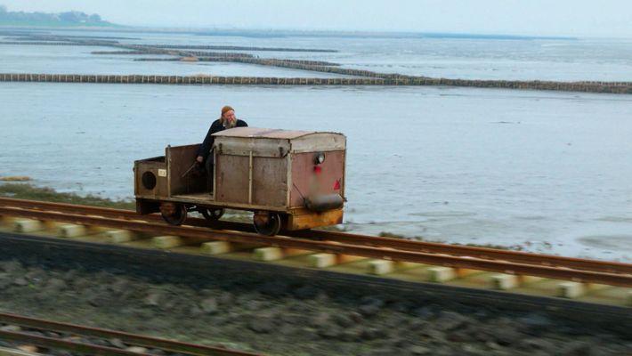 The Hallig Island Postman