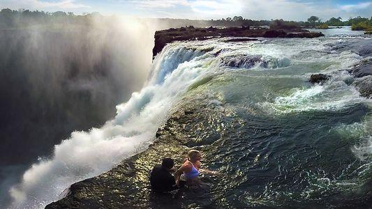 Take a 360° Video Ride Over Victoria Falls