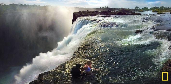 360° VIDEO OVER VICTORIA FALLS – THE DEVIL'S POOL