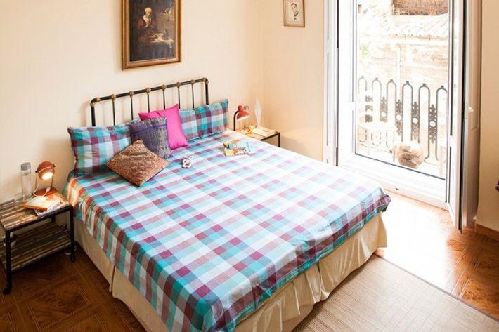 Bedroom at Valencia Mindfulness Retreat