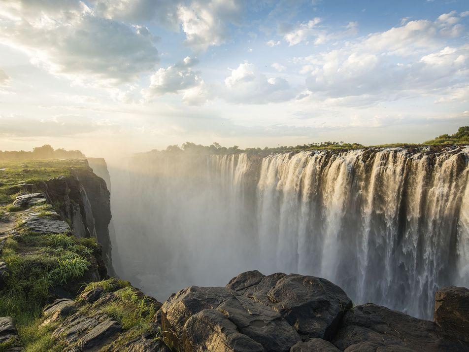Victoria Falls: Rafting on the Zambezi