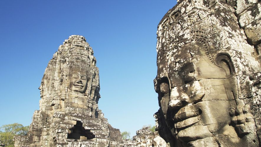 In Cambodia, a City of Towering Temples in the Jungle