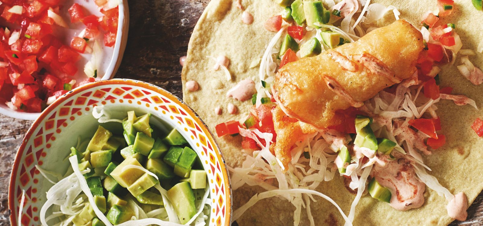 How to make it: Rick Stein's fish tacos recipe