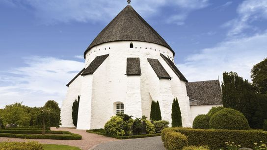 One of Bornholm's iconic round churches