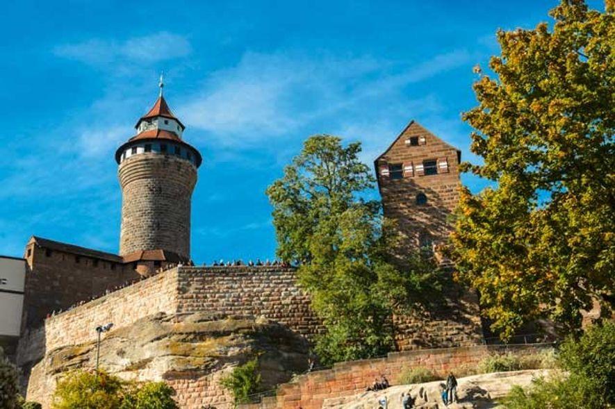 Imperial Castle, Nuremberg. Image: CTZ Nürnberg / Niklas