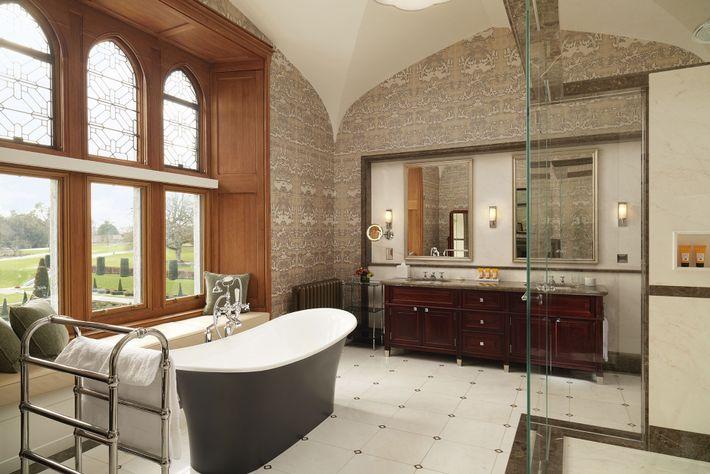 Bathroom in Adare Manor