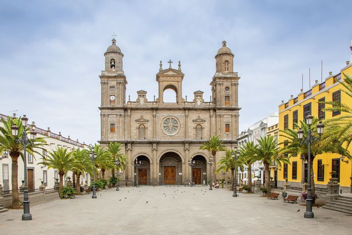 Santa Ana Cathedral in Las Palmas, Gran Canaria.