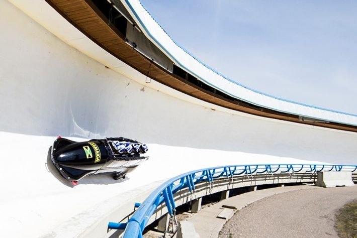 Bobsleighing, Canada Olympic Park.