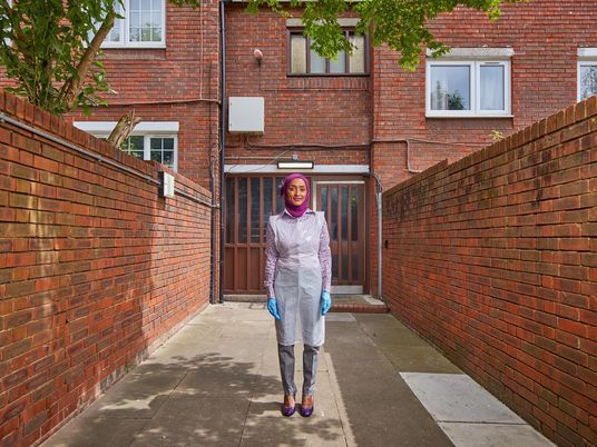 Portraits tell the stories of the UK's volunteer COVID-19 vaccinators