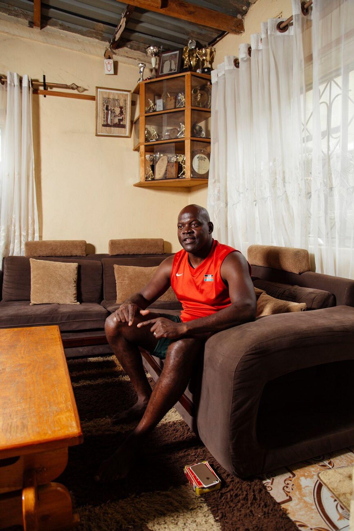 Meshack Senge was a member of Kenya's international hockey team from 1998 to 2007. He now ...