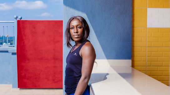 Michelle Sinaida is a member of the Kenya Lionesses, the national women's team for rugby. In her first ...