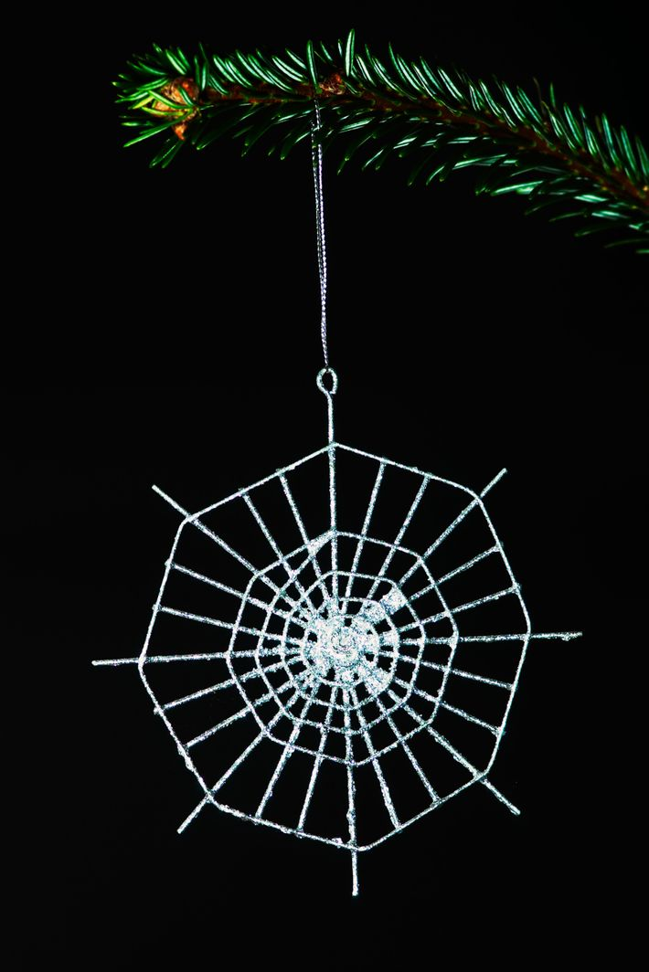 The Christmas spider story, told in the Ukraine, is a folk tale concerning a helpful arachnid ...